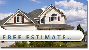 house with a free estimate button